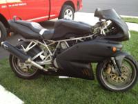 Up for sale or trade is a 2001 Ducati SS That was used