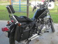 1992 Yamaha Virago 1100 Motorcycle. Has just over 6000