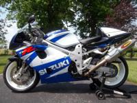 Up for sale is a 2002 Suzuki TL 1000 R with a clean and