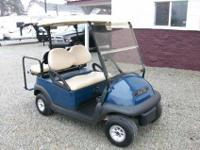 2008 Club Car Precedent 4 Passenger Gas Golf Cart, Blue