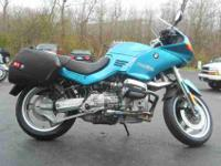 1994 BMW R-1100 RS, Teal, www.roadtrackandtrail.com we