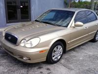2004 Hyundai Sonata - Low Miles! Cold AC! $3,499 CASH!