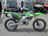 2009 KAWASAKI KX 250F, Lime Green, race-ready