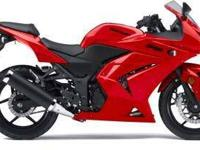 2010 KAWASAKI NINJA 250R, Passion Red, rolling proof