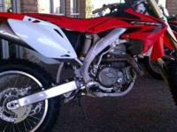 2005 Honda CRF450X $3,499 Call (480) 845-0865 ext. 306