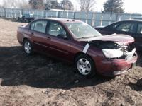 parting out a 04 Chevy Malibu LT. Has a good running