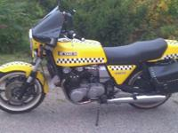 Restored, 1980 Kawasaki KZ1300 A2. Straight 6cyl., 3 -