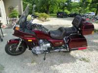 1986 Honda Goldwing, Great Condition, 19,818 Miles,