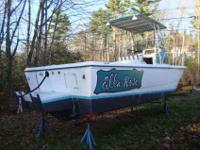 1988 25 feet Cabo Marine Cutty Console. This is an
