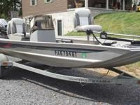 I have up for sale a 1996 Bass Tracker boat and Tracker