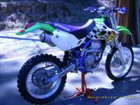 96 Kawasaki specialty race bike. Larry Roeseler Doug