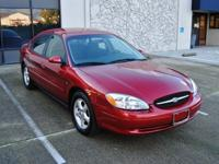 2001 Ford Taurus SES..Low Miles..Clean Title..Very