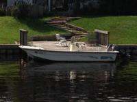 2002 Carolina Skiff 19' V Hull-----Engine runs strong
