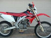 READY FOR THE WOODS!! 2005 Honda CRF450X ( I bought it