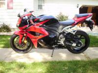 2009 Honda CBR 600RR after realizing that I just don?t