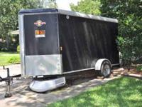 2010 Single Axle Enclosed Trailer purchased for $4,500.