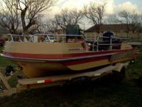 I have a 1984 deck boat with new floor new interior new