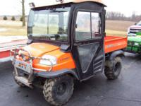 KUBOTA RTV,,,4X4 DIESEL ,DUMP BED,,ALL RUN AND OPERATE