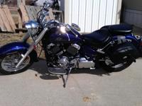 For sale is a K-STATE purple 2003 Yamaha 650 V-Star