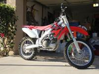 This is essentially a new Honda 450. It has about 10