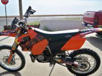I have a GREAT 2004 ktm 200 exc that I'm selling. It