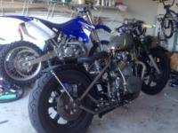Up for sale is my 79 Yamaha XS 650 chopper, bobber,