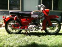 "1965 HONDA CA95 ""Baby Dream"" 150. Matching frame and"