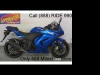2010 used Kawasaki Ninja 250 with anti-lock brakes for