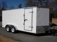Brand New 2013 Freedom Brand Enclosed Cargo or Cycle