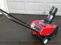 For Sale, 3.5hp, Single Stage, Two Stroke, Toro
