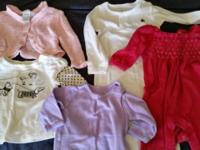 Gently used, baby gap top, children's place pink
