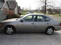 For sale is a 2001 Nissan Altima GXE with just under