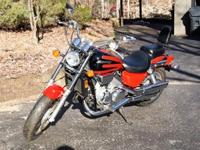 You're Looking At A......1997 Honda Magna 750with Near