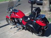 2003 Kawasaki Mean Streak 1500. Vance & Hines pipes,