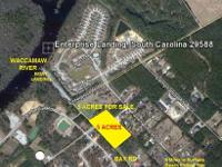 3.68 Acre residential lot in Longs area. Located off of