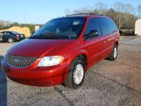2002 Chrysler Town & Country Mini Van, EX, 3.8L V6,