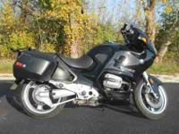 1998 BMW R 1100 RT, Black, www.roadtrackandtrail.com we
