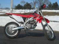 2007 HONDA CRF450, Red, www.roadtrackandtrail.com we