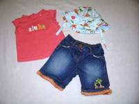 Adorable Gymboree Outfits in size 3-6 months. They are