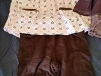 2 sets of top and pants pairs (luna luna, just ine
