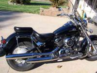 REALLY CLEAN BLACK 2002 VOLT STAR 650 CLASSIC WTH ONLY