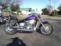 Distinctive street-rod styling. The Pearl Purple Flame
