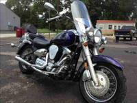 This 2003 Yamaha Roadstar Silverado 1600cc runs good