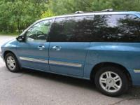 I have a blue 2001 Ford Windstar SE, 151,835 miles as