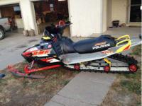 Up for sale 2001 Polaris rmk vertical escape 156""