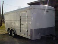 2007 Cargo Express sixteen Enclosed Trailer $3,750 OBO
