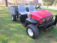2010 UTILITY TORO -- AUTO DUMP BED - ( five TO CHOOSE