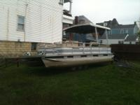 we have a GREAT running 24ft pontoon boat with