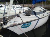 Dufour is a quality line of sailboats. This is Frances