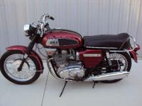 BSA Rocket 3 A75R. This a matching number bike